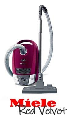 Miele Red Velvet Vacuum Cleaner