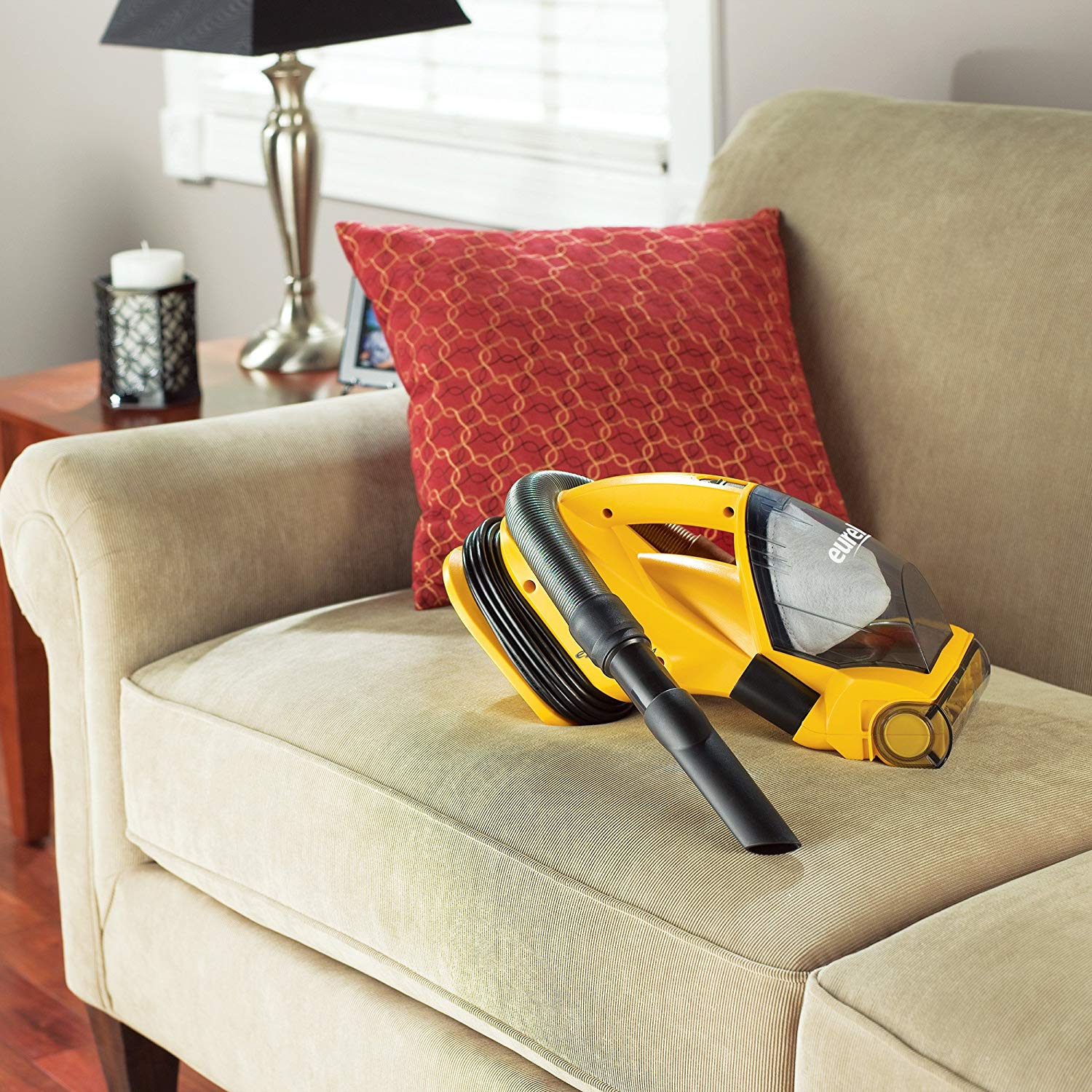 Eureka Vacuum cleaning couch