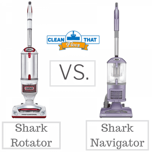 Shark Rotator VS. Shark Navigator