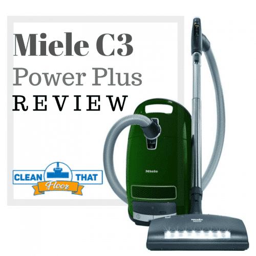 Miele C3 Power Plus Vacuum Cleaner