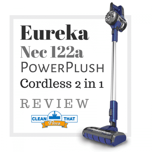 Eureka Nec 122a PowerPlush Cordless 2 in 1 Vacuum Cleaner