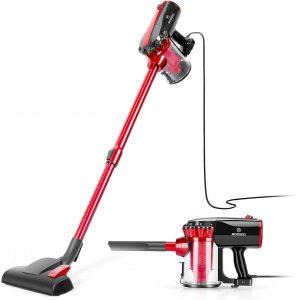 MOOSOO Vacuum for Hard Floor D600