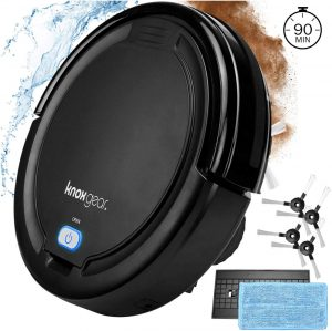 Knox Robot Vacuum Cleaner with Mopping Cloth
