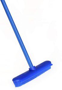 ElectroSilk Silicone Bristle Push Broom