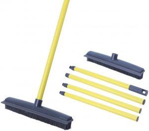 JUOIFIP Soft Push Broom Bristle