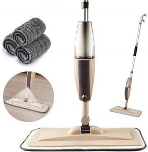 Crazove Microfiber Spray Mop for Floor Cleaning