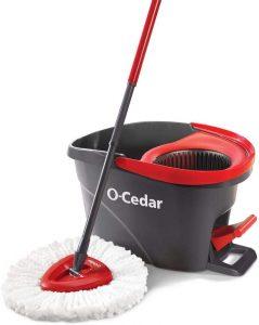 O-Cedar EasyWring Microfiber Spin Mop Bucket