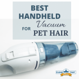 Top 8 Handheld Pet Hair Vacuums  in 2021